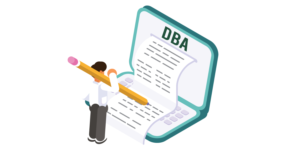 Learn how to file a DBA