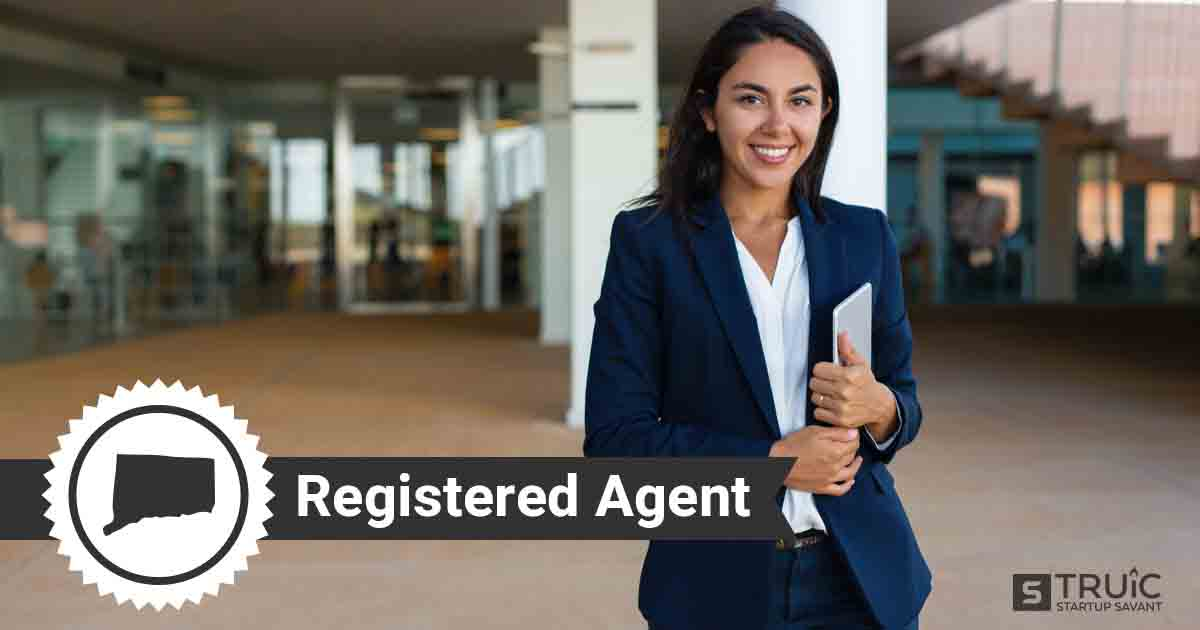 A smiling Connecticut registered agent