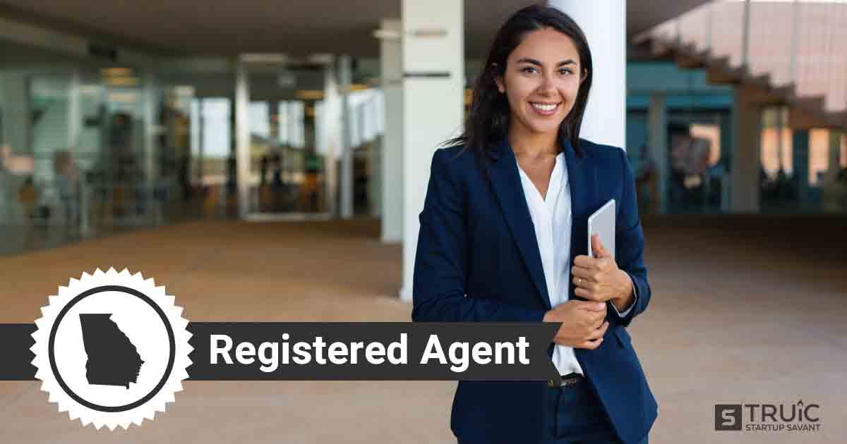 A smiling Georgia registered agent