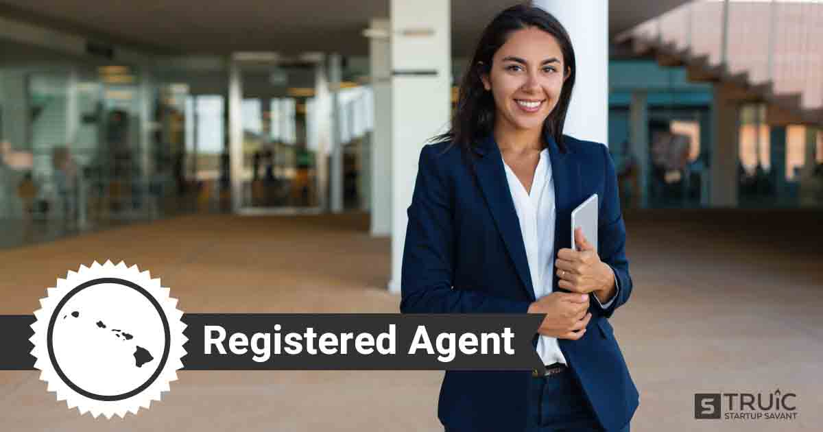 A smiling Hawaii registered agent