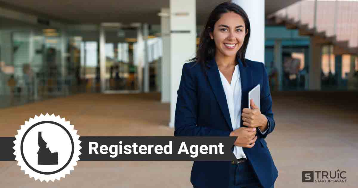 A smiling Idaho registered agent