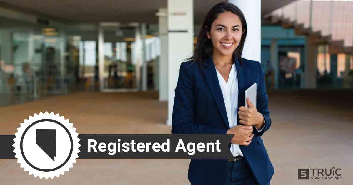 A smiling Nevada registered agent