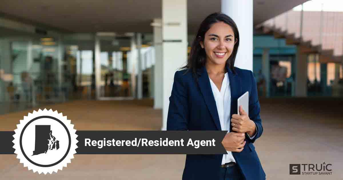 A smiling Rhode Island registered agent