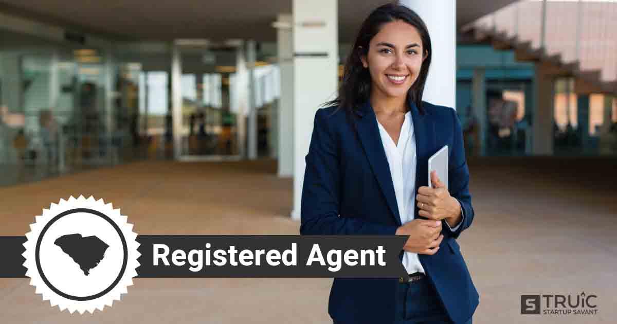 A smiling South Carolina registered agent