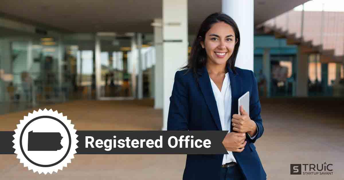 A smiling Pennsylvania registered agent