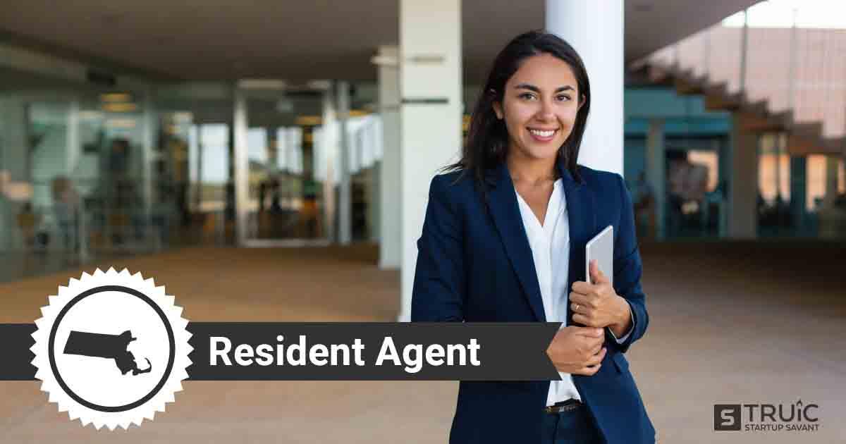 A smiling Massachusetts registered agent