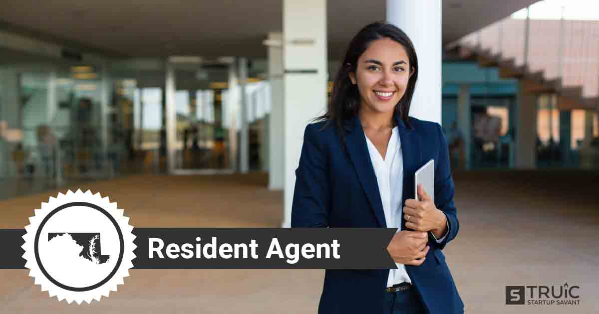 A smiling Maryland registered agent