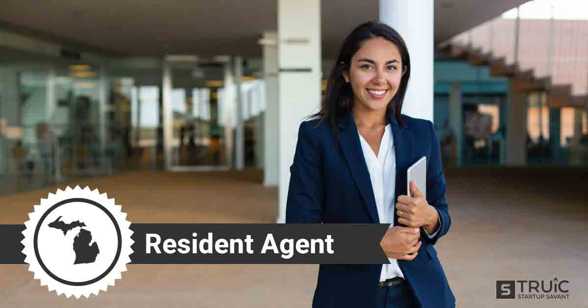 A smiling Michigan registered agent
