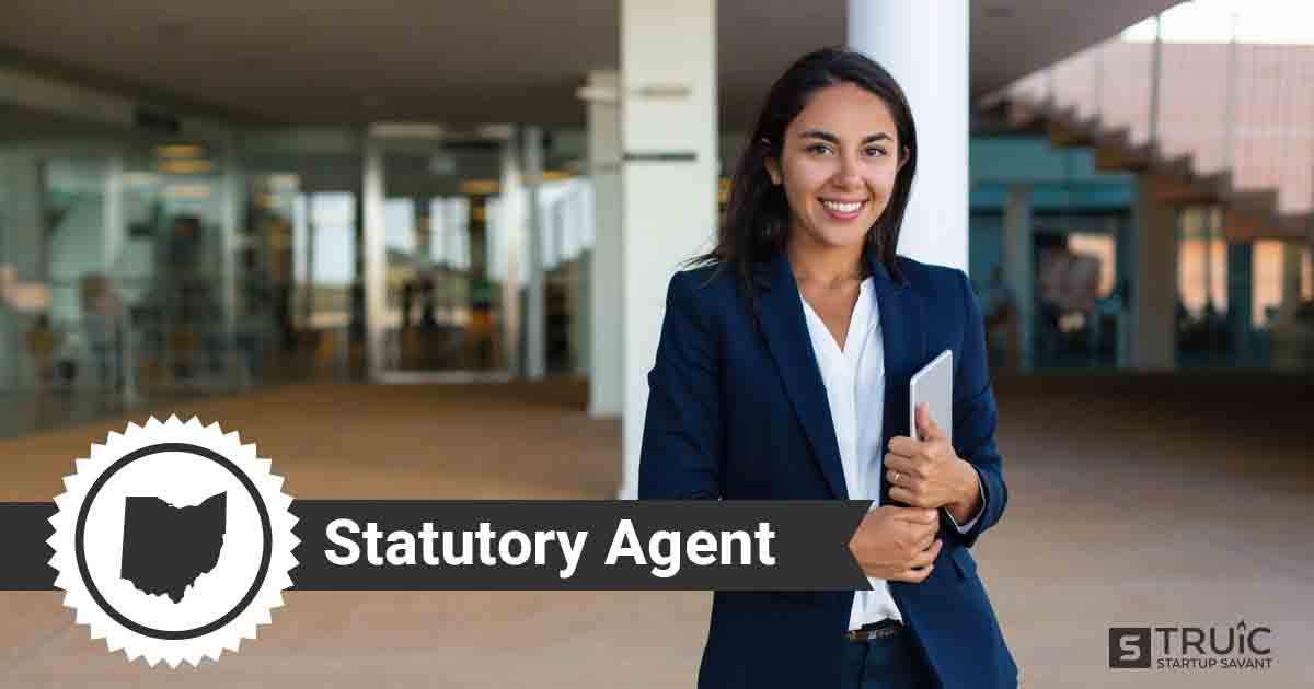 A smiling Ohio registered agent