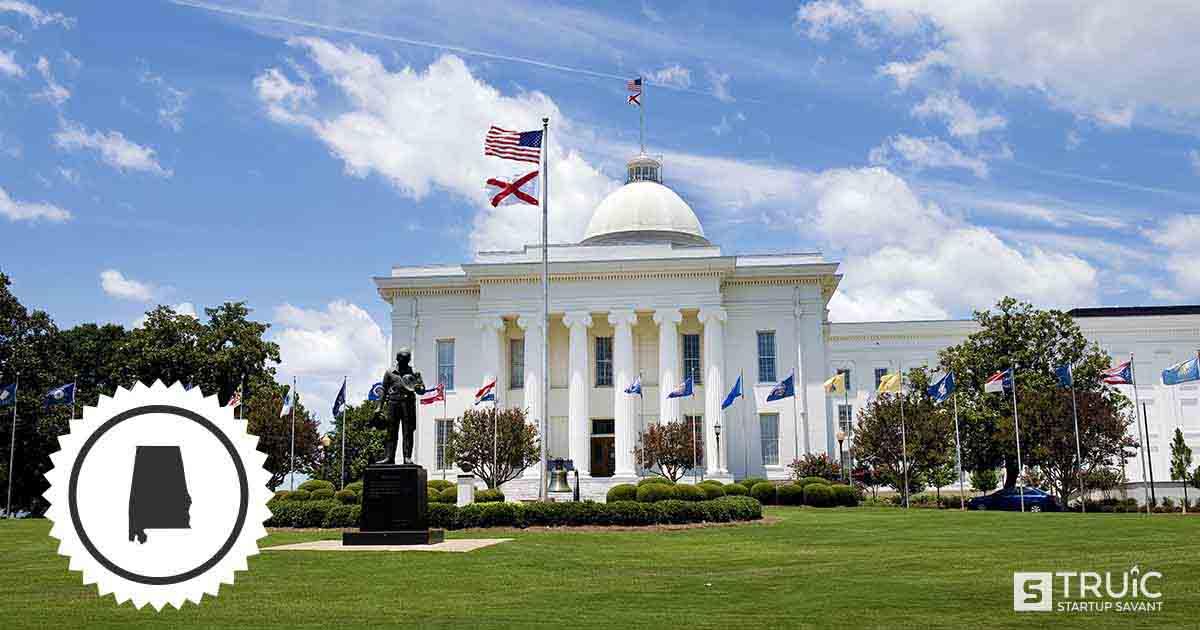 Capitol building in Alabama.