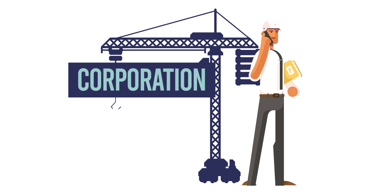A man forming a corporation in Idaho