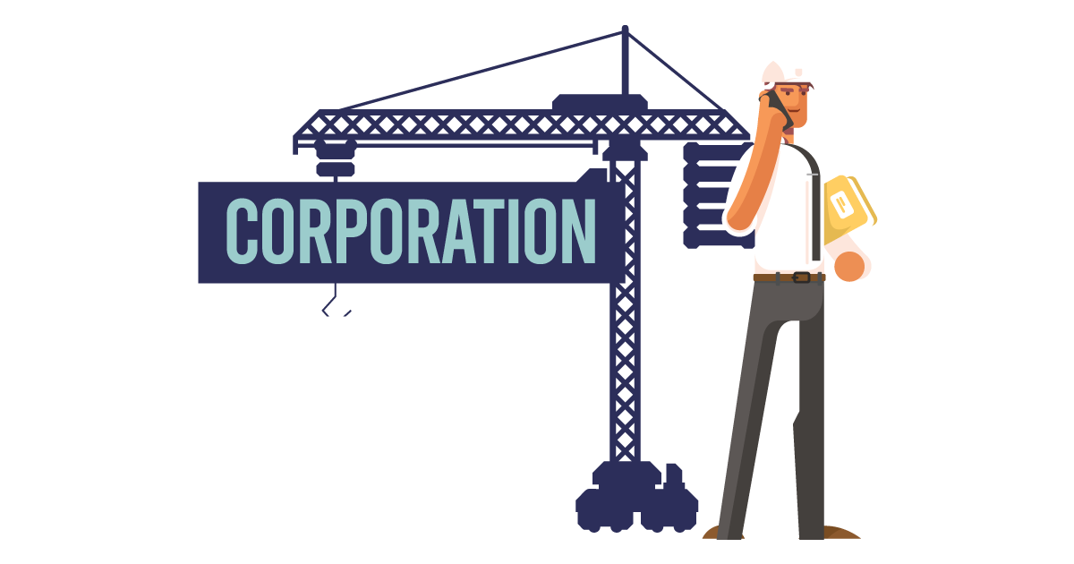 A man forming a corporation in Louisiana