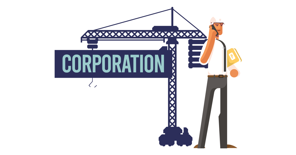 A man forming a corporation in Maine