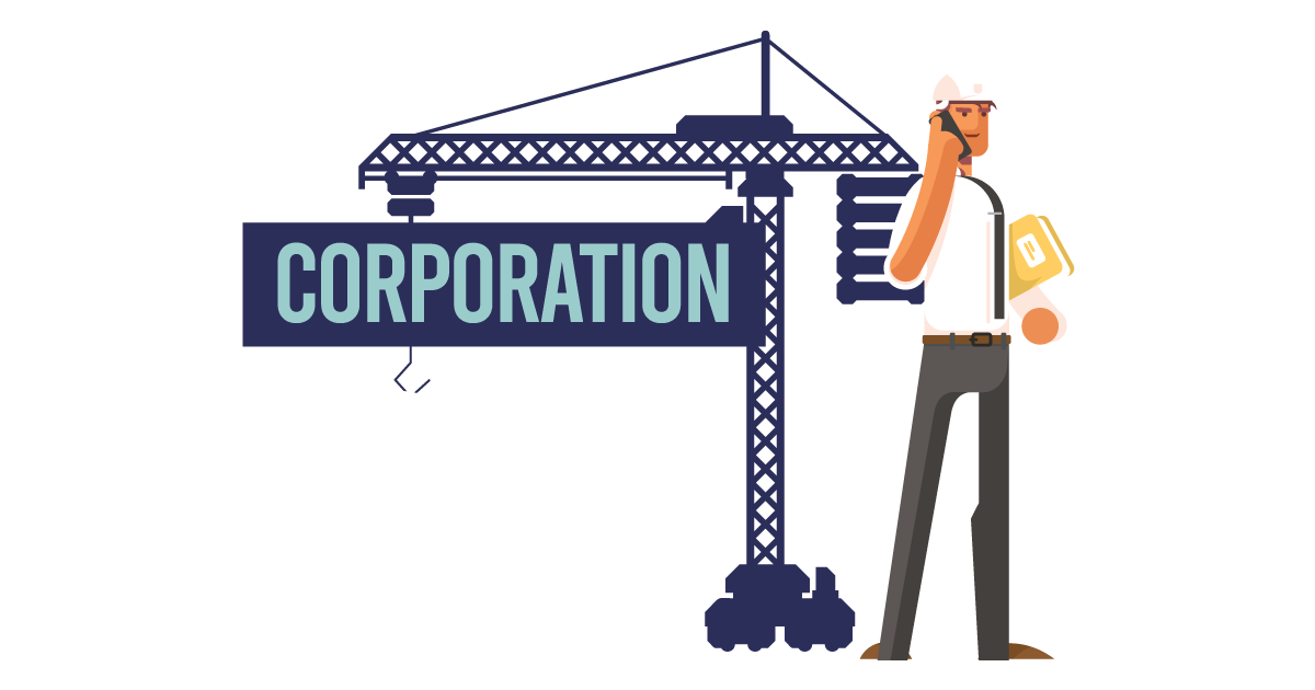 A man forming a corporation in Minnesota