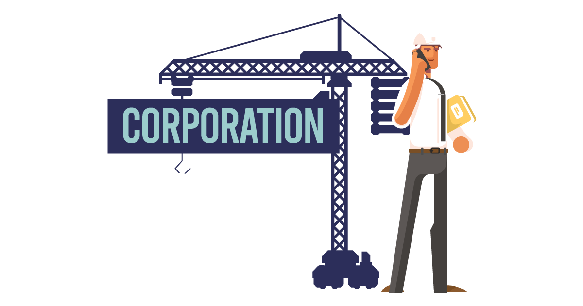 A man forming a corporation in Ohio