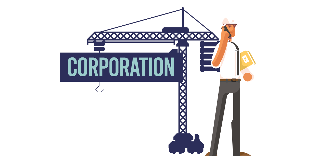 A man forming a corporation in Oklahoma