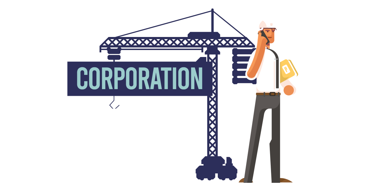 A man forming a corporation in Texas