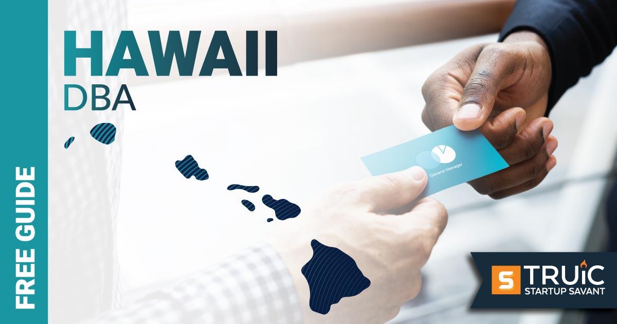 Image of a man looking up how to file a D B A in Hawaii. DBA Hawaii.