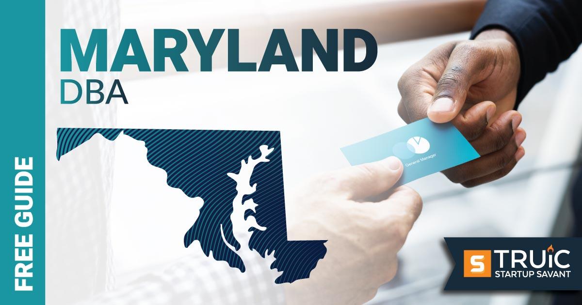 Image of a man looking up how to file a D B A in Maryland