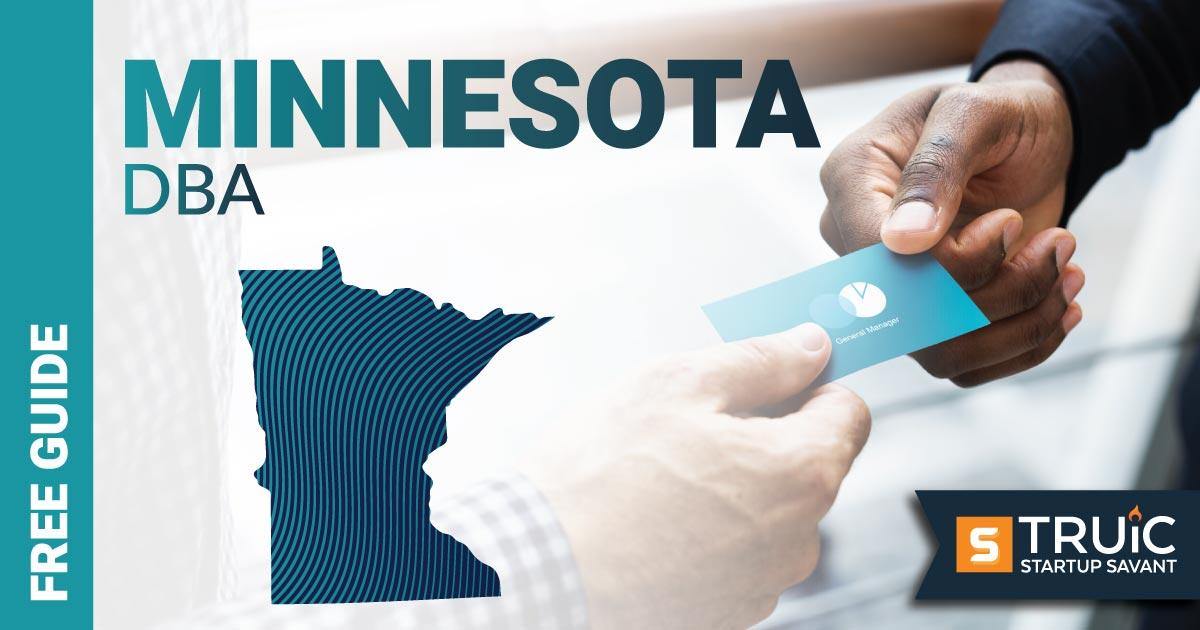 Image of a man looking up how to file a D B A in Minnesota