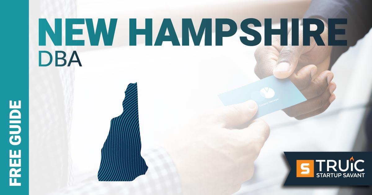 Image of a man looking up how to file a D B A in New Hampshire. DBA New Hampshire