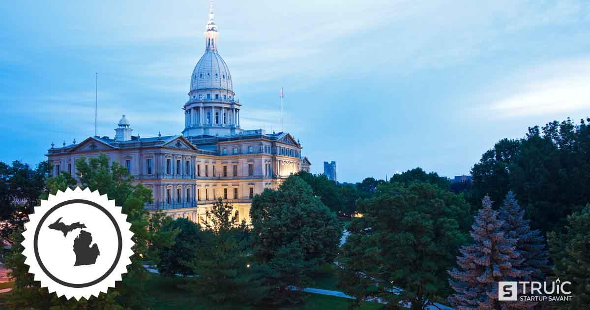 Capitol building in Michigan.