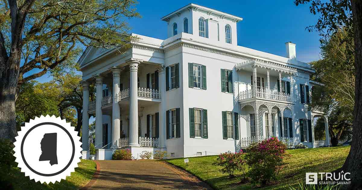 Stanton Hall building of Mississippi.