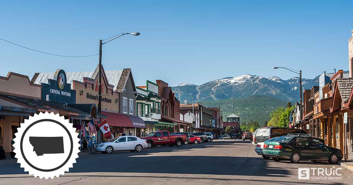 Small town in Montana.
