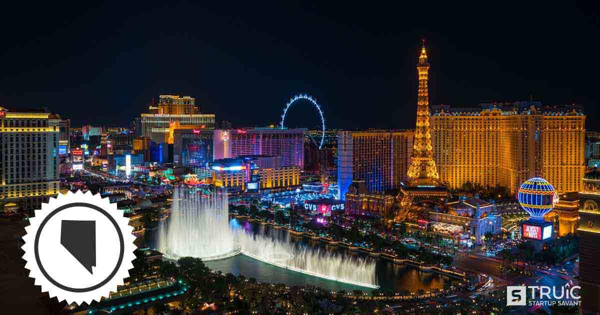 Las Vegas, Nevada skyline.