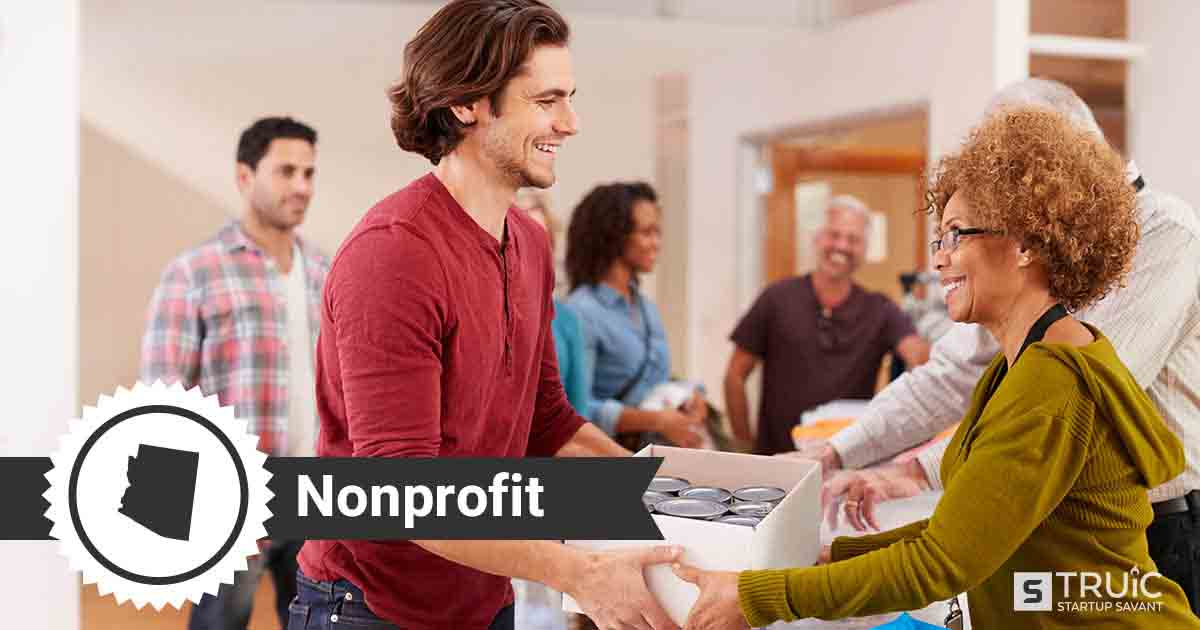 Two people forming a nonprofit in Arizona
