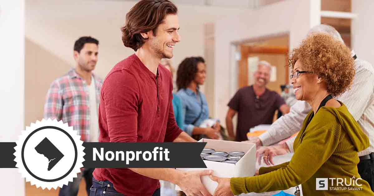 Two people forming a nonprofit in Washington D.C.