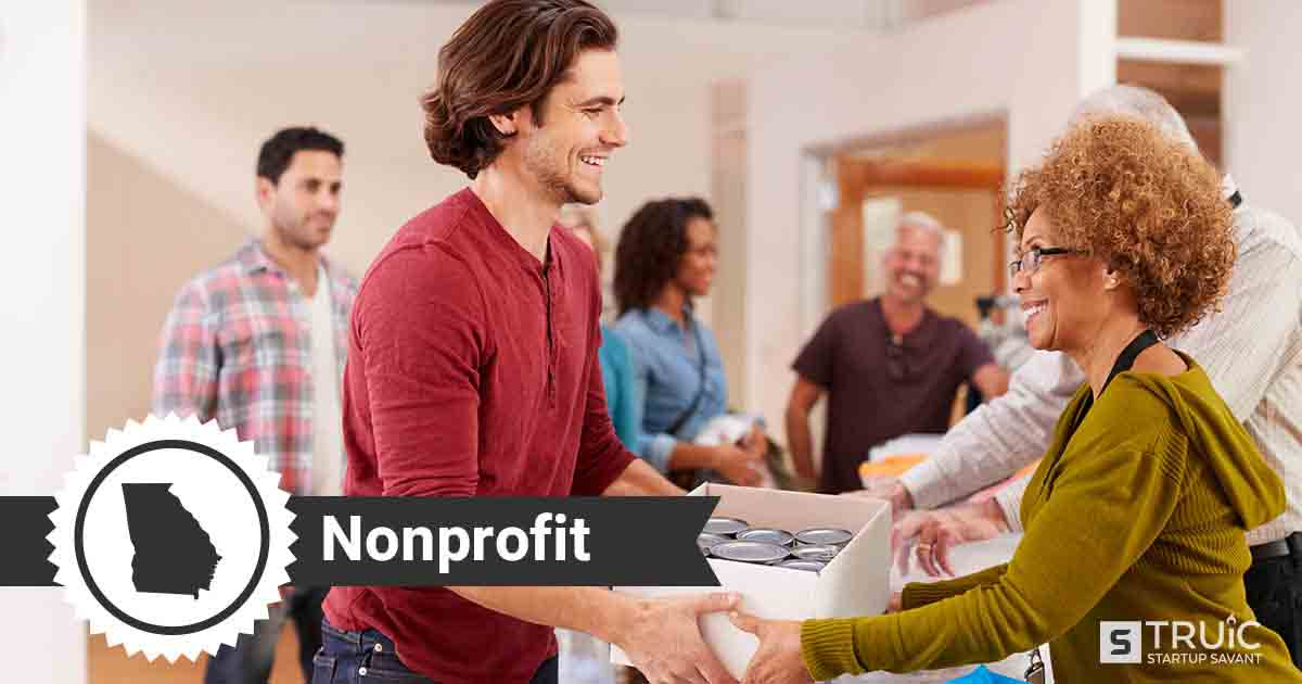 Two people forming a nonprofit in Georgia