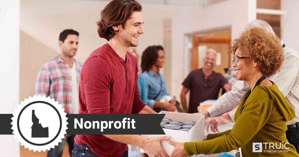 Two people forming a nonprofit in Idaho