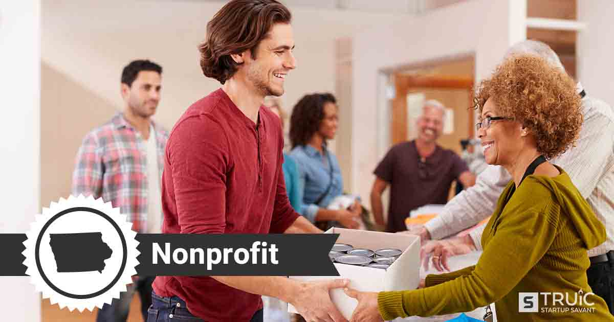 Two people forming a nonprofit in Iowa