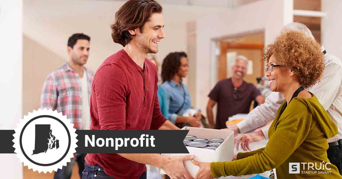 Two people forming a nonprofit in Rhode Island