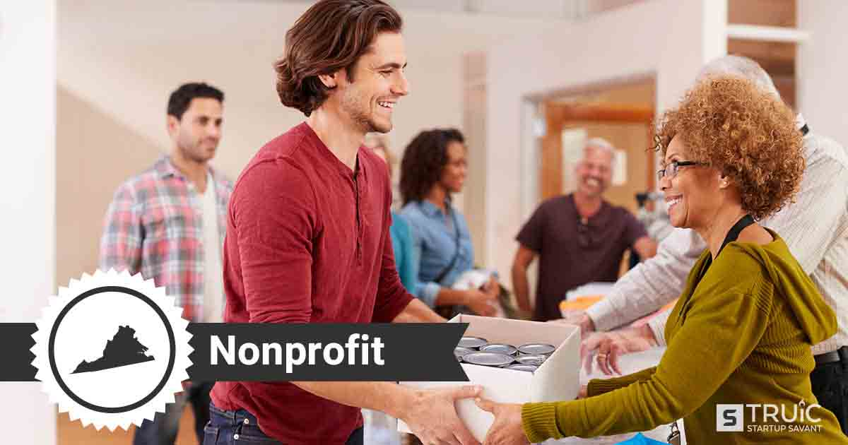 Two people forming a nonprofit in Virginia