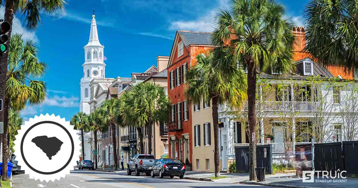 Downtown Charleston, South Carolina.