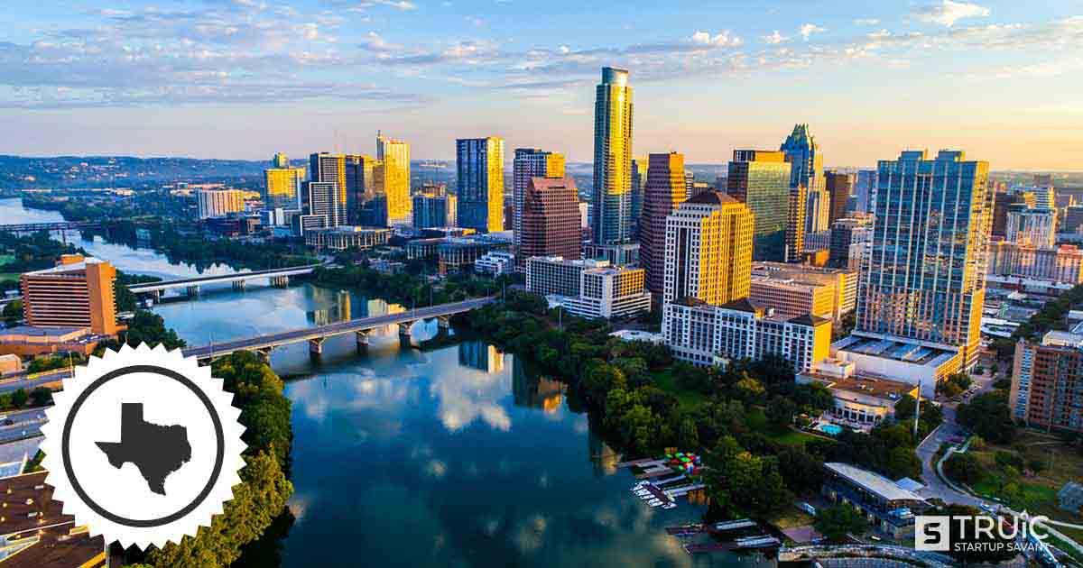 Texas skyline.