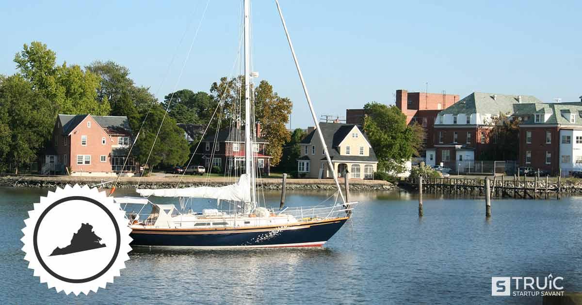 Sail boat in Virginia.