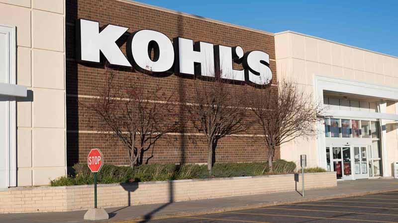 Kohl's storefront in Minnesota.