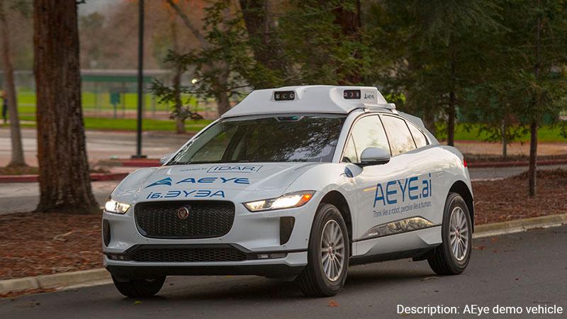 AEye self driving car.