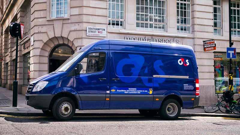 A G4S security van in London, UK.