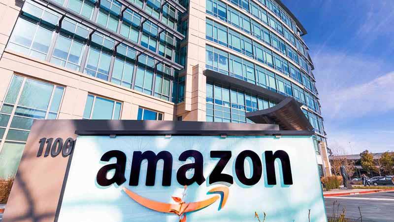 Amazon headquarters in Silicon Valley.