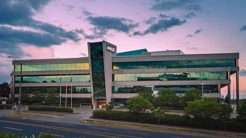 AMD office in Markham, Canada.