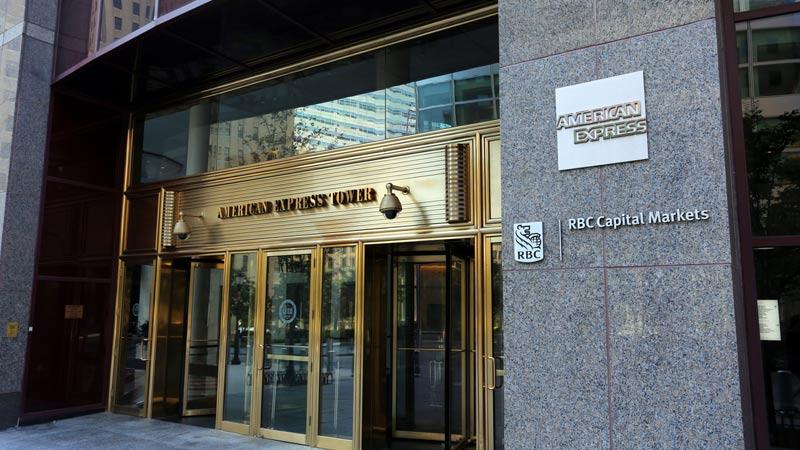 American Express headquarters.
