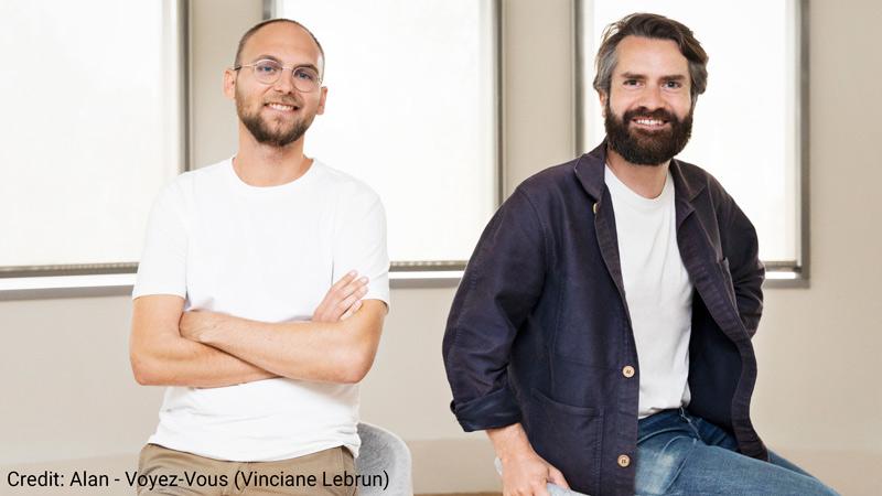 Alan co-founders Jean-Charles Samuelian-Werve and Charles Gorintin.