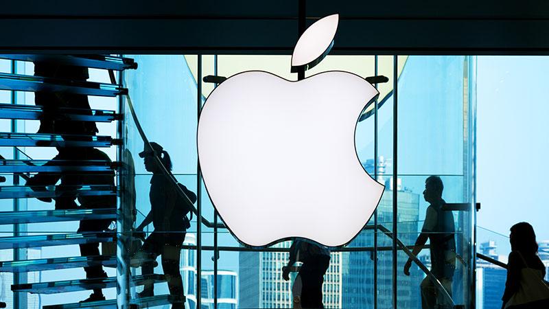 Apple store in Hong Kong.
