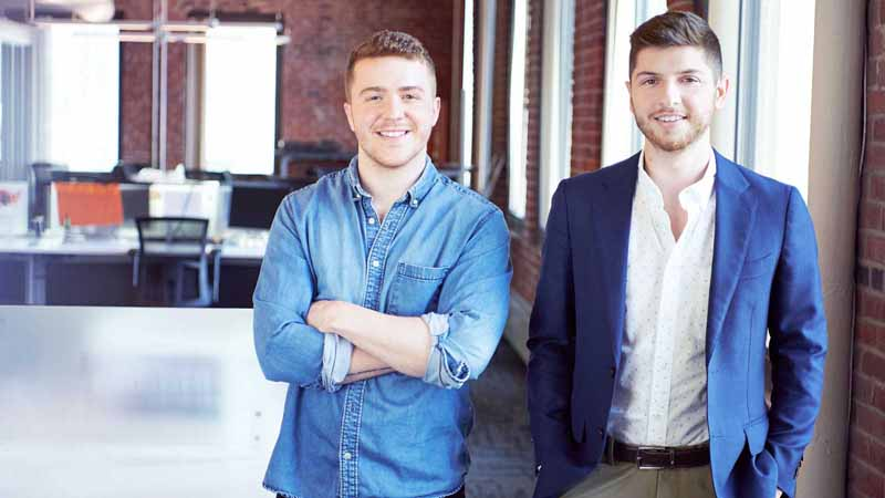 Reggora co-founders Brian Zitin and William Denslow.