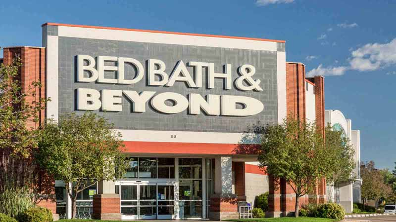 Bed Bath & Beyond store.