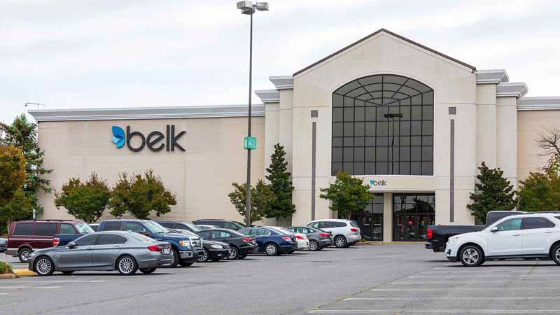 Belk Department Store at North Carolina's Eastridge Mall